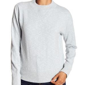 Madewell Relaxed Mock Neck Sweatshirt